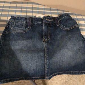 EUC Gap Kids Jean skirt. Size 10.